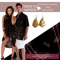 Dress to Impress Bamboo Motif Set