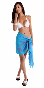 Butterfly 3 Half Sarong