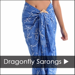 Dragonfly Sarongs - 1 World Sarongs