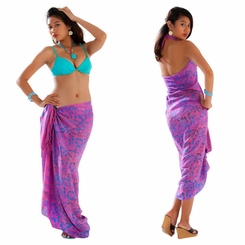 Floral Sarong in Pink