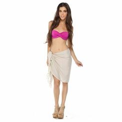 Light Mocha Color Half Sarong