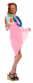 Light Weight Cotton Sarong in Light Pink