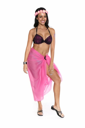Light Weight Cotton Sarong in Pink