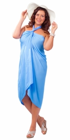 "PLUS SIZE ""Light Blue"""