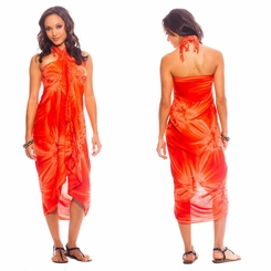 "Sarong ""Orange"" Smoked"