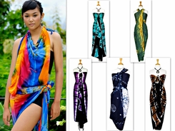 """Tie Dye"" Assorted Sarongs"