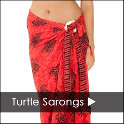 Turtle Sarongs - 1 World Sarongs