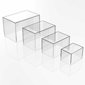 Acrylic Boxes, Bins and Cubes