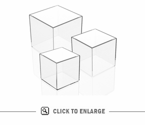 Acrylic Boxes, set of 3-4x5x6 HD
