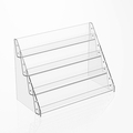 Acrylic Card Racks