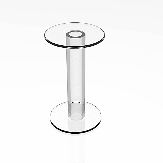 solid clothing cylindrical displays pedestal pedestals acrylic cubes merchandisers racks risers