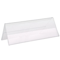 Acrylic Sign Holders Plastic Tabletop Counter Holders Wall - Acrylic table tent holders