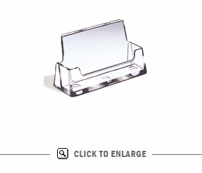 Clear Holder for Business Cards