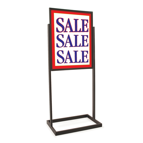 Free Standing Poster Frames - Bulletin Style Free Standing Graphic ...