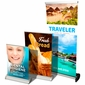 Table Top Retractable Banner & Stand 11x17
