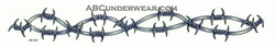 """12"""" Barbed Wire Tattoo"""