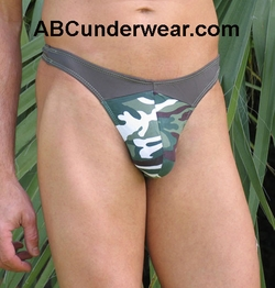 2 Tone Men's Camo Thong clearance