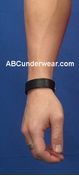 3 Snap Leather Bracelet