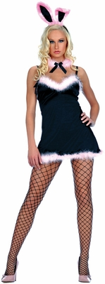 3pcs Satin Bunny Costume - Closeout Stock