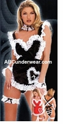 Adult Costume Deluxe French Maid Costume