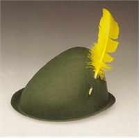 Alpine Felt Hat for Adults