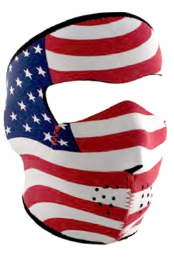 American Flag Neoprene Face Mask