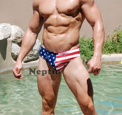 American Flag Stars & Stripes Swim Bikini