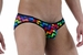 Arcoiris Geo Print Mens Bikini Brief By NDS Wear