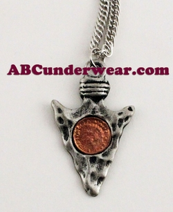 Arrow with Coin Inset