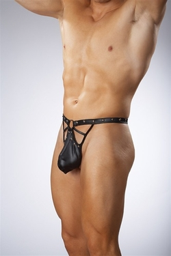 Aviator Studded Thong Small-Medium Clearance