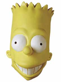 Bart Simpson Vinyl Mask