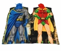 Batman and Robin Poncho Costume/Lounge wear Dynamic Duo