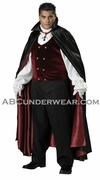 Big Men's Gothic Vampire Costume