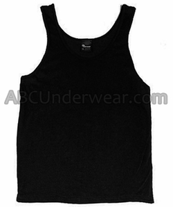 Black Athletic Tank Top