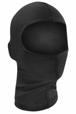 Black Stretch Nylon Balaclava