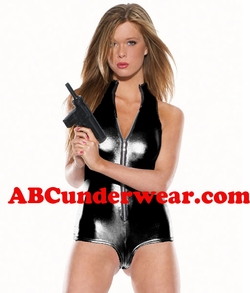 Bodysuit Costume - Sexy Secret Agent - Clearance