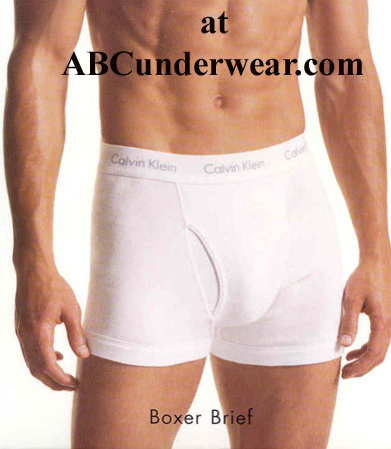 calvin klein cotton knit white boxer brief. Black Bedroom Furniture Sets. Home Design Ideas