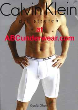 Calvin Klein Dri-Stretch Cycle Short