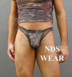 Camo Net C-Ring Brief