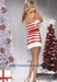 Candy Cane Tube Dress