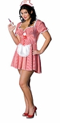 Candy Striper Plus Size Woman's Costume