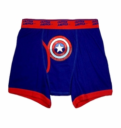 Captain America Logo Boxer Brief