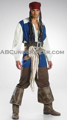 Captain Jack Sparrow Costume 2007
