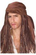 Caribbean Pirate Wig