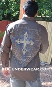 Celtic Cross Men's Dress Shirt