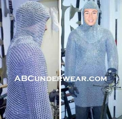 Chain mail Shirt and Headpiece
