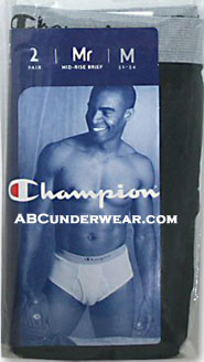 Champion Mid-Rise brief 2 PACK