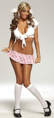 Cheap Thrills School Girl Adult Costume