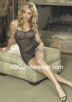 Chemise Set Silk Lingerie - Closeout