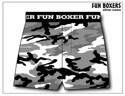 City Camo Boxer Short